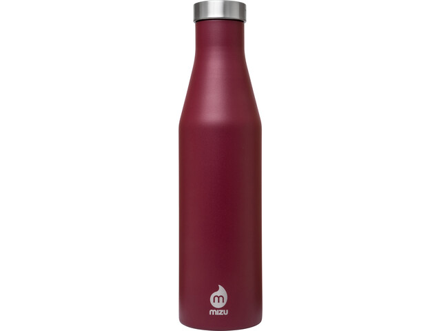 MIZU S6 Insulated Bottle with Stainless Steel Cap 600ml, enduro burgundy